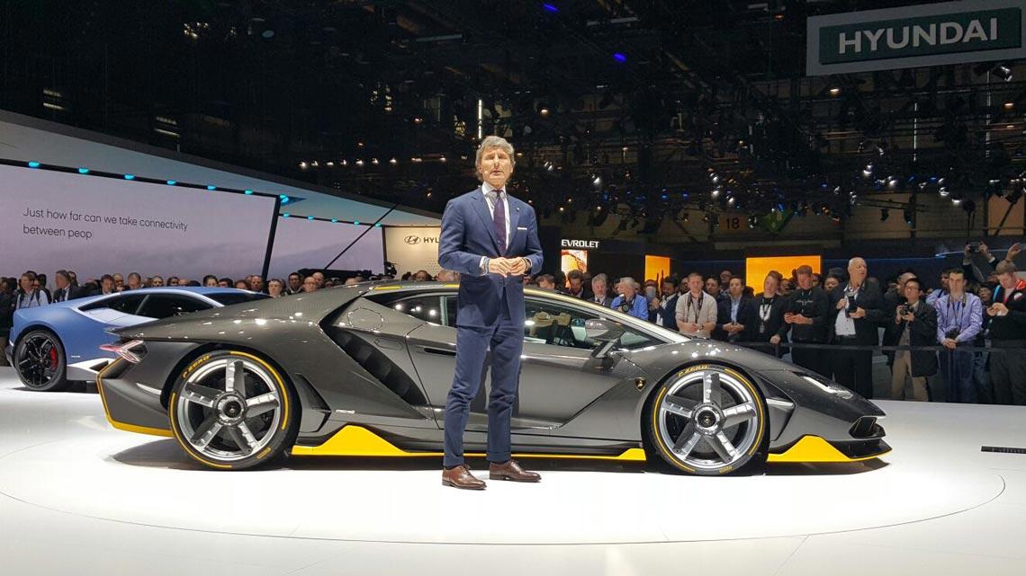 Opac And Lamborghini Centenario Opac Srl